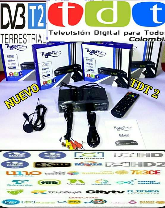 Decodificador Tdt Tv Digital Terrestre