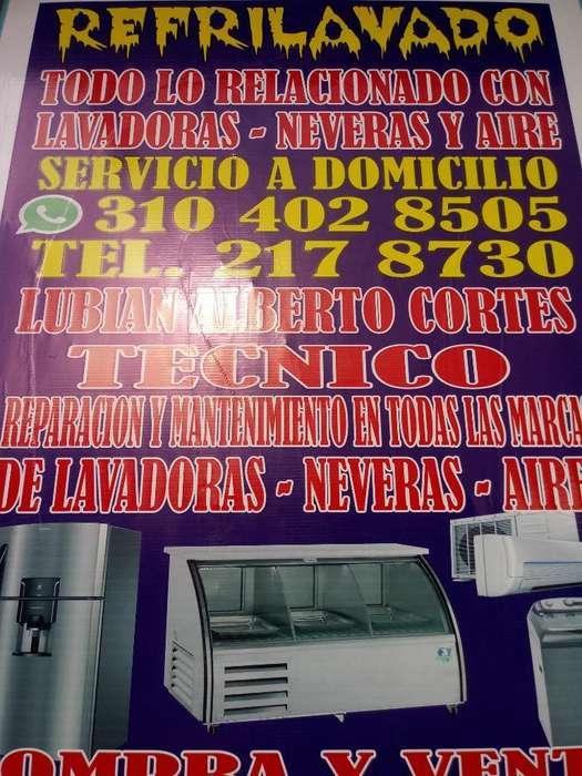 Reparacion en Neveras Y Lavadoras