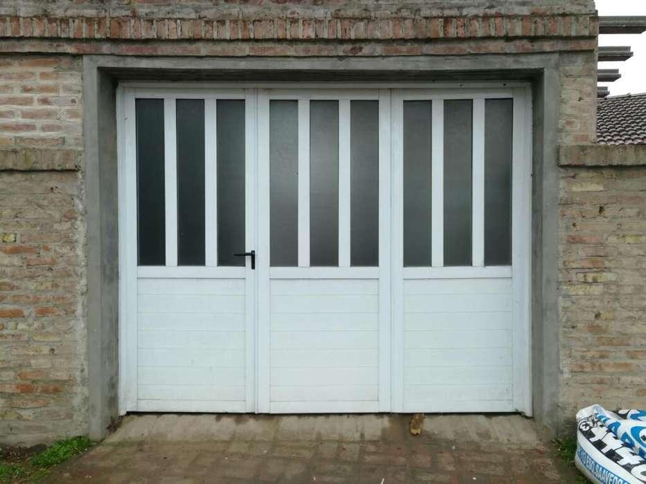 Portón Aluminio 3 Hojas