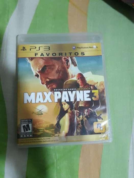 Vendo Max Payne 3 para Ps3 Esta 10 de 10