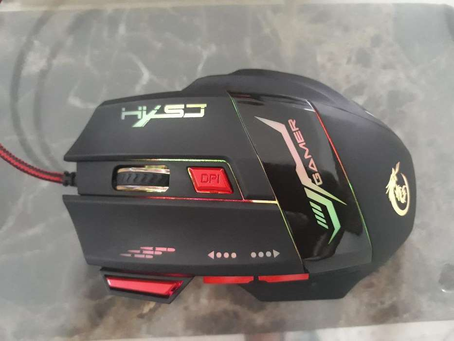 Hxsj H100 Dragon 7d 5500 Dpi Mouse Gamer