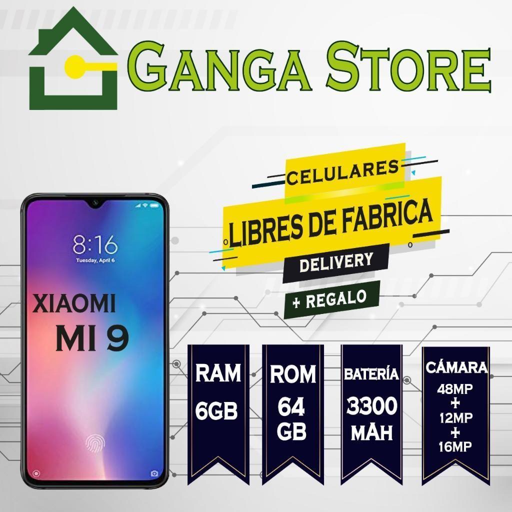 Xiaomi Mi 9 Huella en La Pantalla