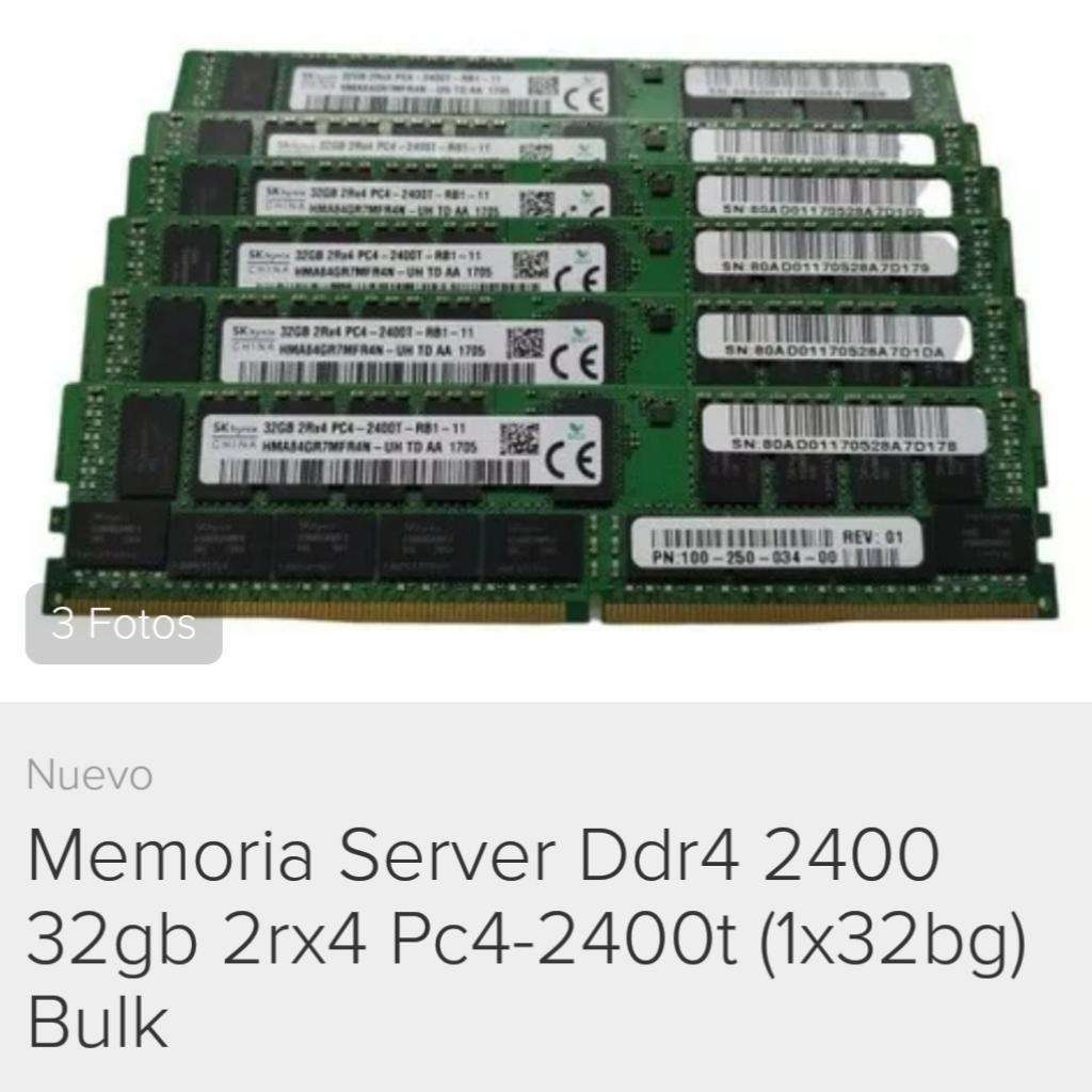 Memoria Server Ddr4 32gb