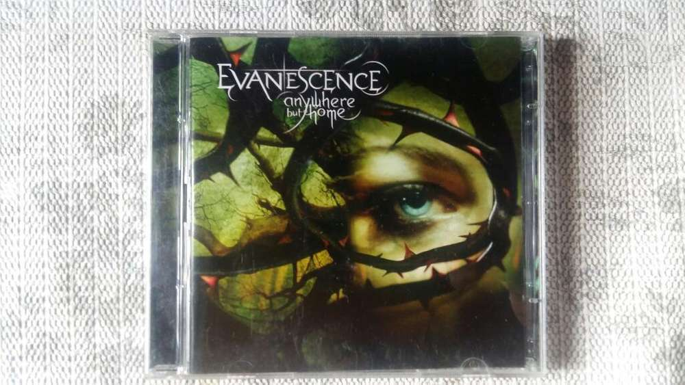 Cd Evanescence - Anywhere But Home