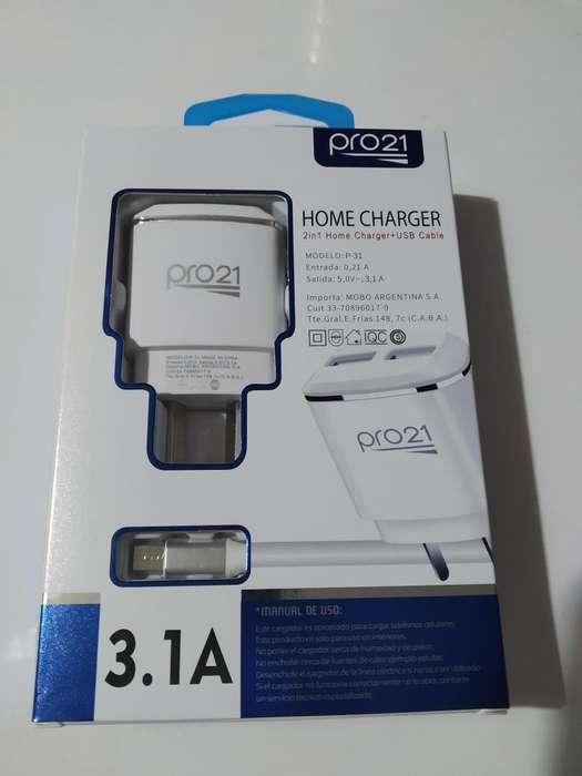 Cargador USB 3.1 TURBO PRO21