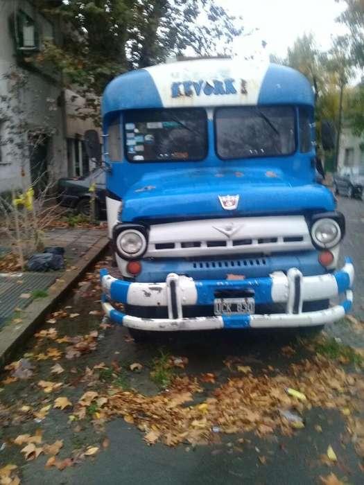 Casa Rodante Ford B500 Diesel
