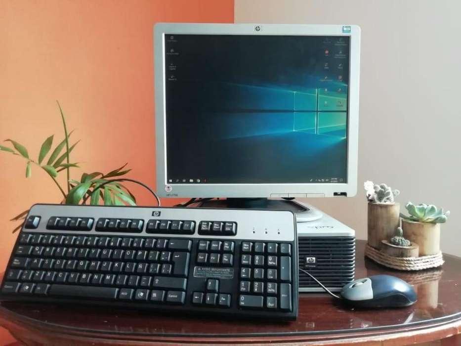 *DE OPORTUNIDAD* Computadora HP Win10 ORIGINAL Con pantalla