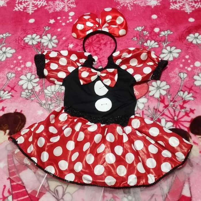Disfraz de Minnie Mouse Talla 4