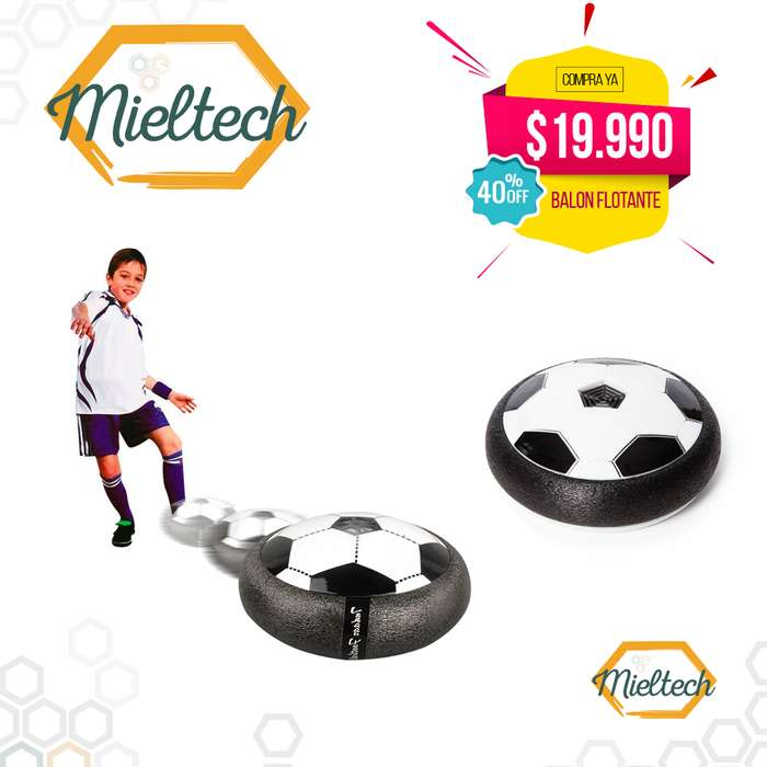 balon de futbol flotante aereo air hockey disco aerodeslizable hover ball hoverball