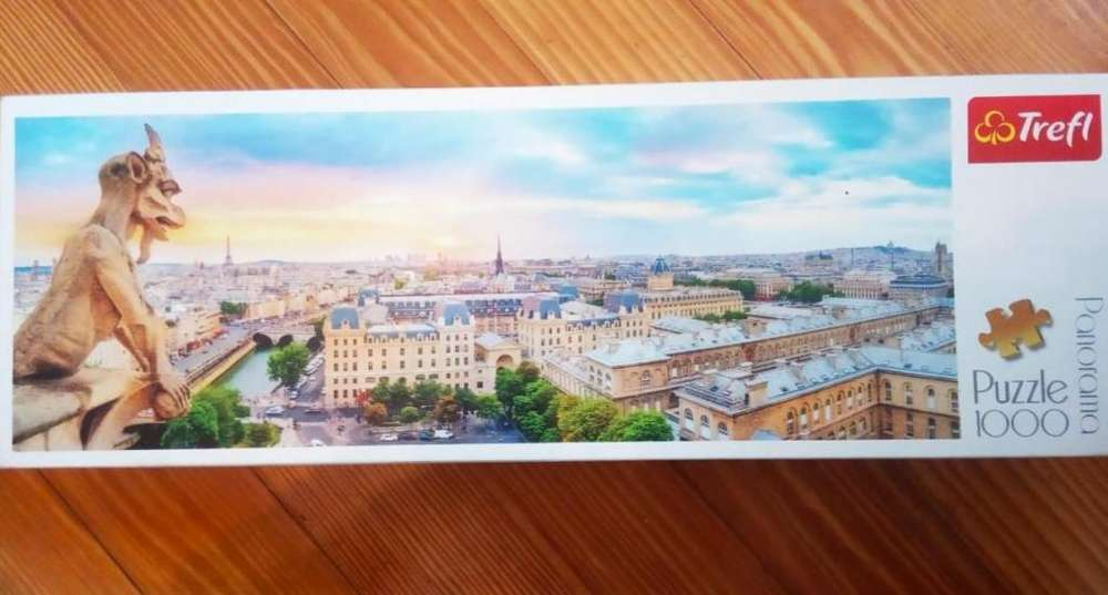 Puzzle 1000 piezas marca Trefl, Panorama de París