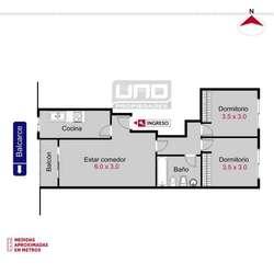 Balcarce 819 - Dpto de 2 Dormitorios Externo. Alquila Uno Propiedades