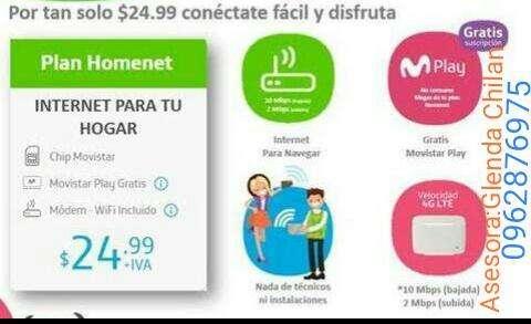 Internet inalambrico de <strong>movistar</strong>