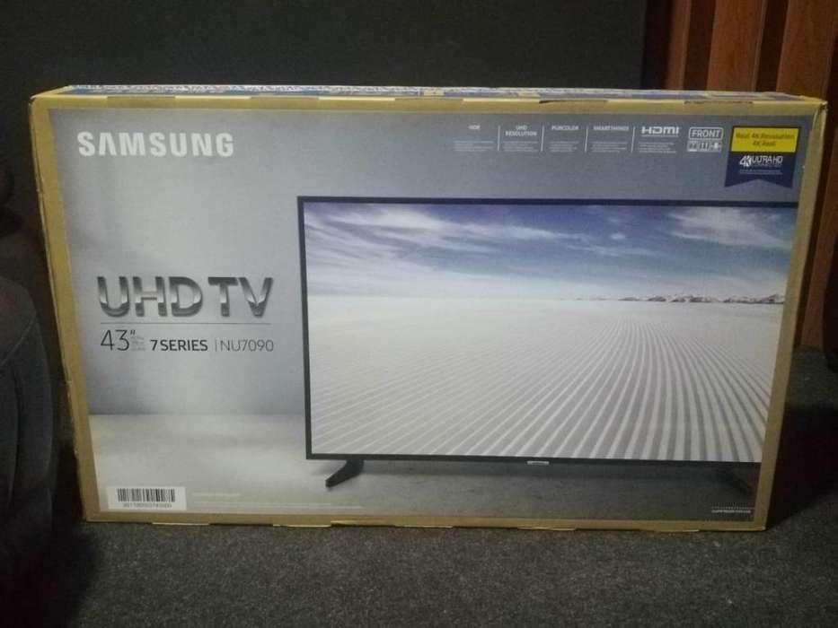 Samsung Smart 43 4k Nuevas de Paq