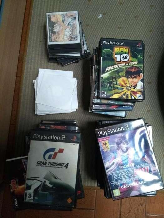 Lote Juegos de Playstation 2 (ps2)