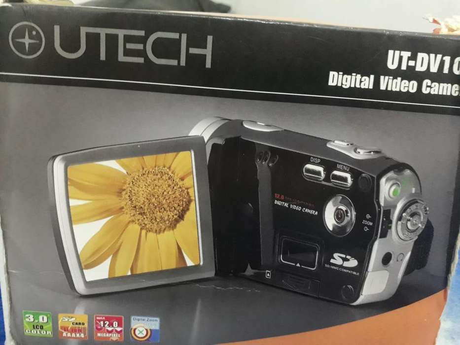 Vendo video camara marca utech