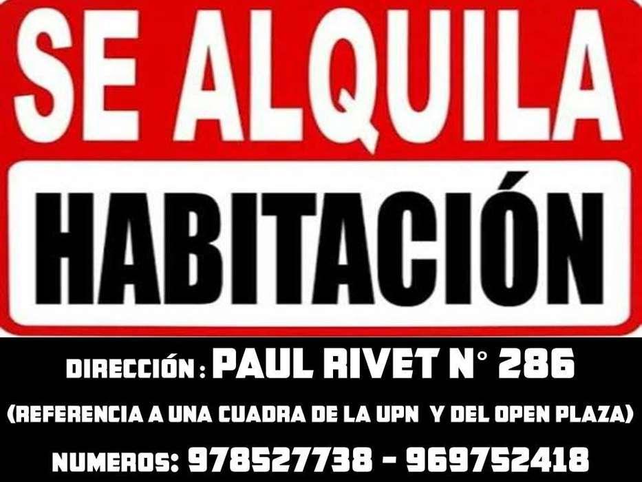 ALQUILER DE HABITACIÓN SIMPLES Y CON BAÑO PROPIO