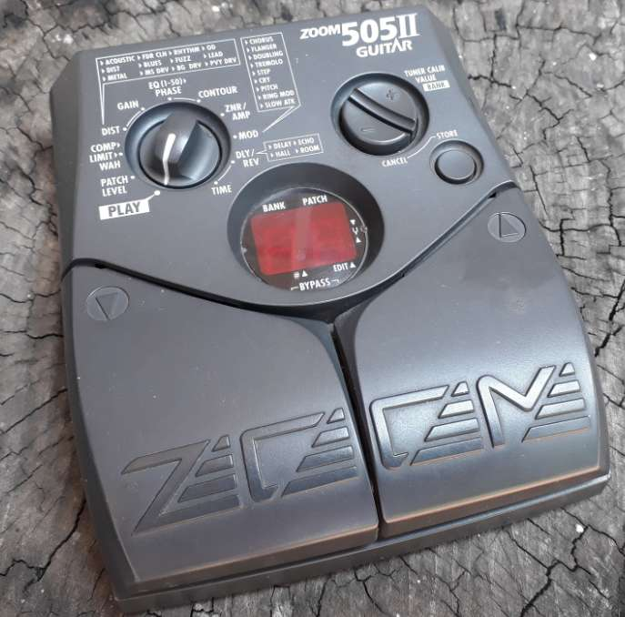 Pedal Zoom 505 Ii Guitarra