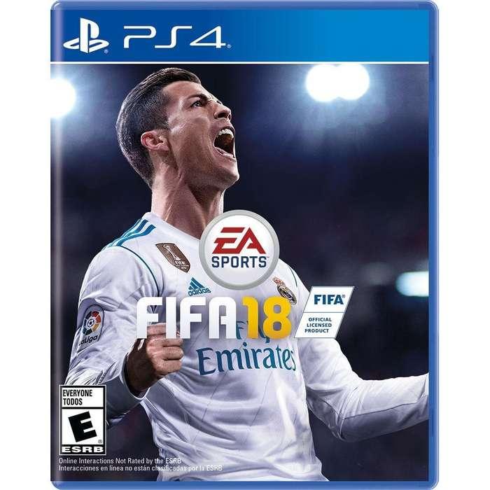 INTERCAMBIO FIFA 18 PS4