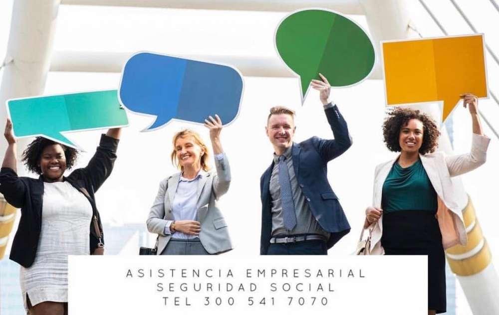 Tienes Dudas sobre su Seguridad Social? Dejanos asesorarte, comunicate con nosotros. LLAMANOS HOY 3005417070