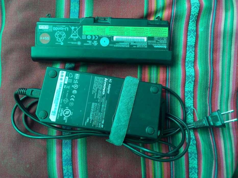 Batería Y Fuente de Laptop Lenovo