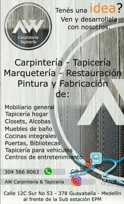 Aw Carpintería Tapicería