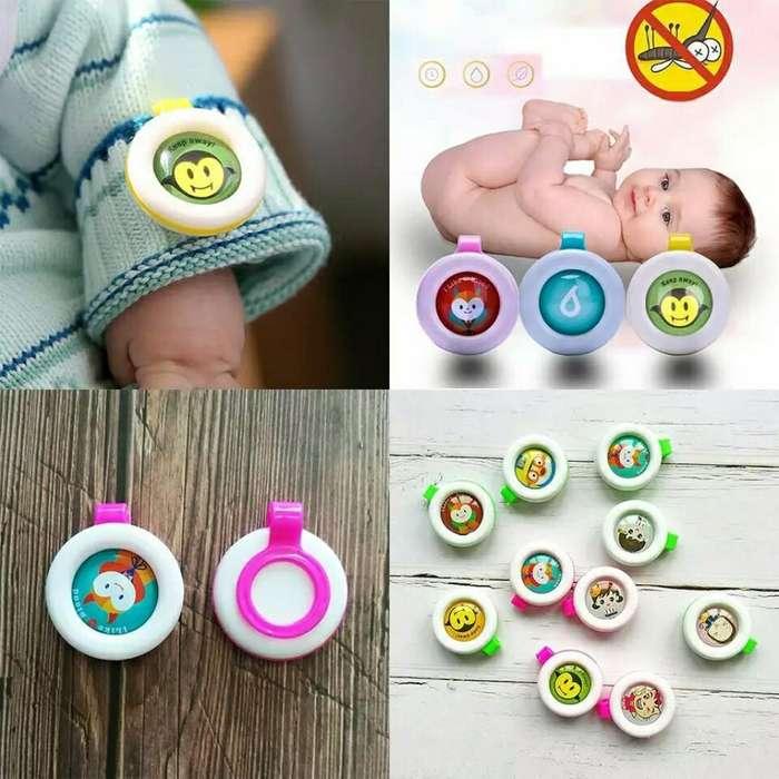 Repelente para Bebés Y Niños Tipo Botón