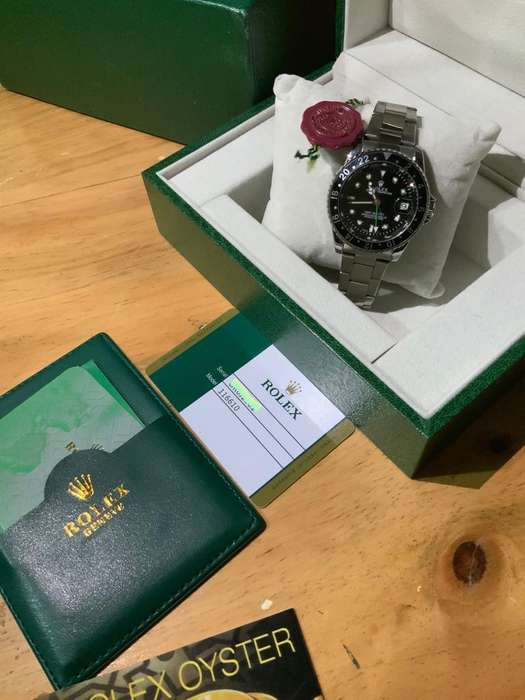 Reloj Rolex Submariner Original Genuino