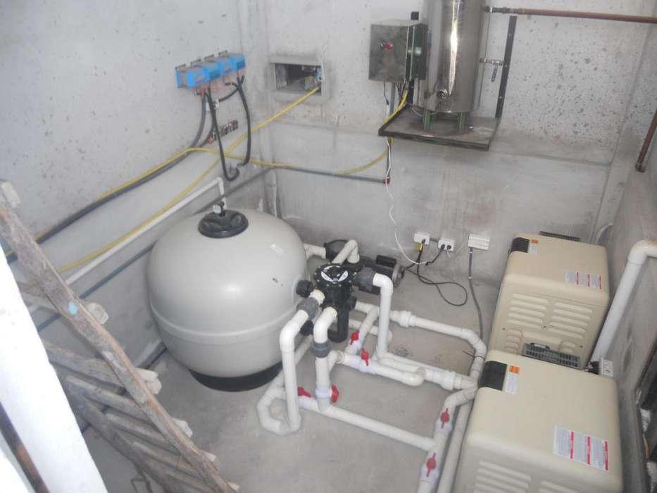 equipos de filtración y calentamiento
