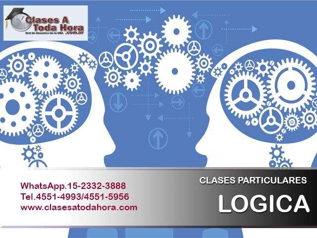 Clases particulares de Logica para estudiantes de CAECE