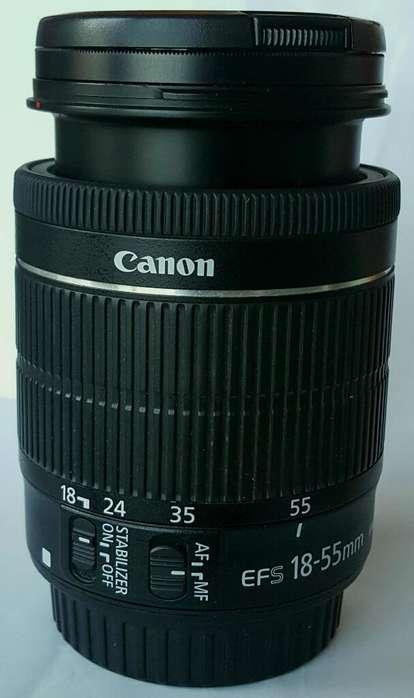 Lente Canon 18 55 F 5.6