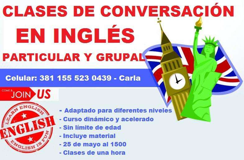 Clases de Inglés en Tucumán Apoyo Escolar, Ingresos, Exámenes internacionales, Conversación