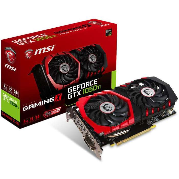 Acp - Tarjeta De Video Msi Gaming Nvidia Gtx1050ti 4gb