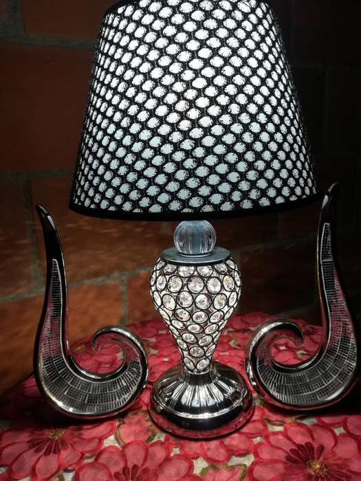 Hermosa Lámpara Doble Bombillo