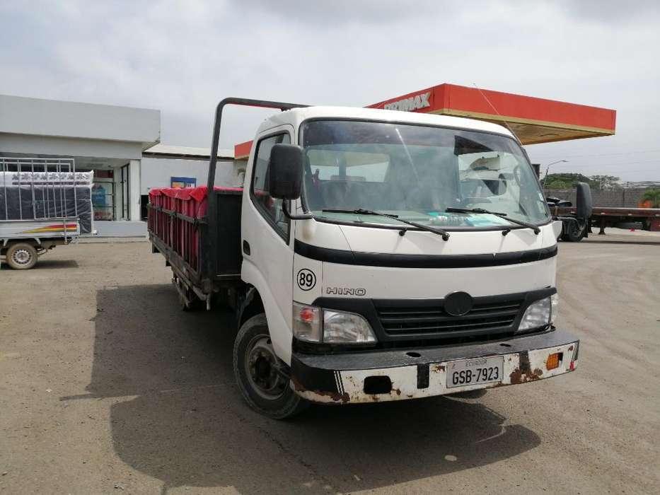 Hino Dutro 816 Chasis Largo Plataforma
