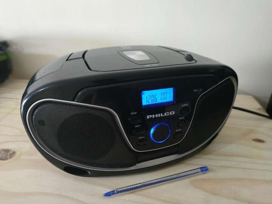 Radiograbador Philco Mp3