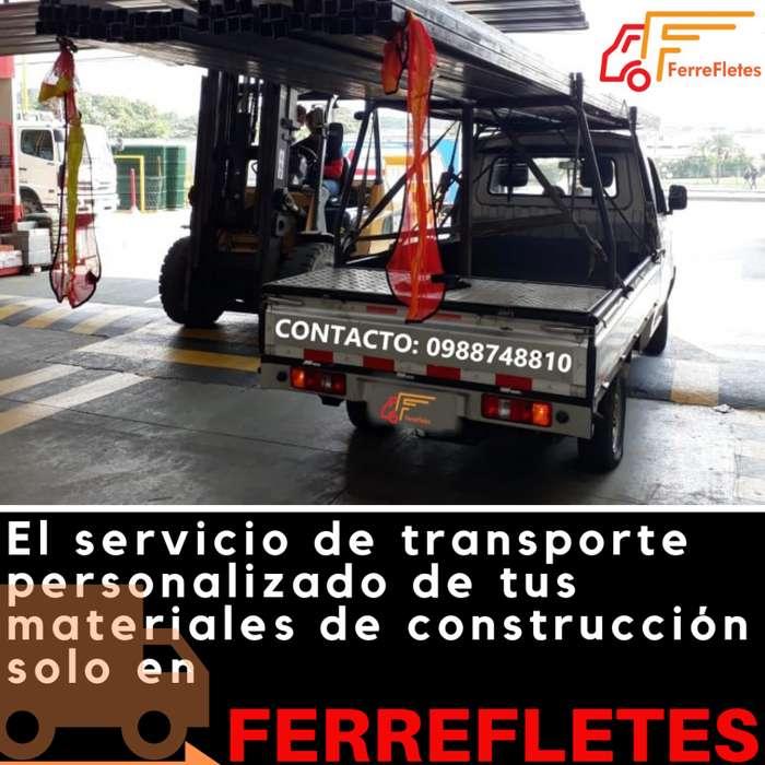 FerreFletes Ecuador, servicio de transporte de carga personalizado