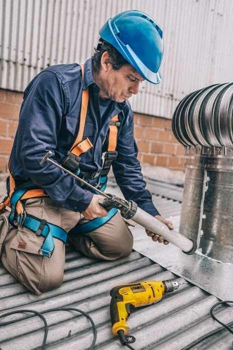 Extractor para techo de 400/600mm en Aluminio/Galvanizado