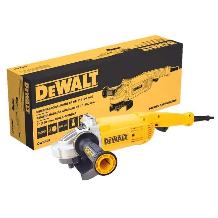 Esmeril Angular De 7 Super Pitbull 2600w Dewalt Dwe497