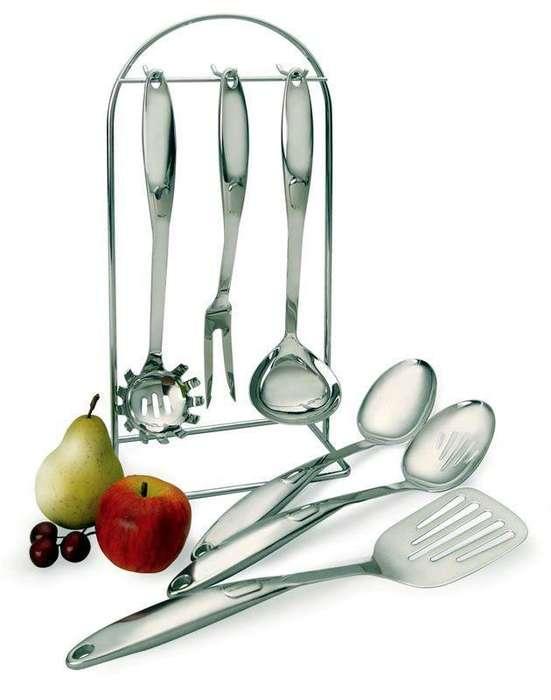 Juego de utensilios de cocina de 6 piezas