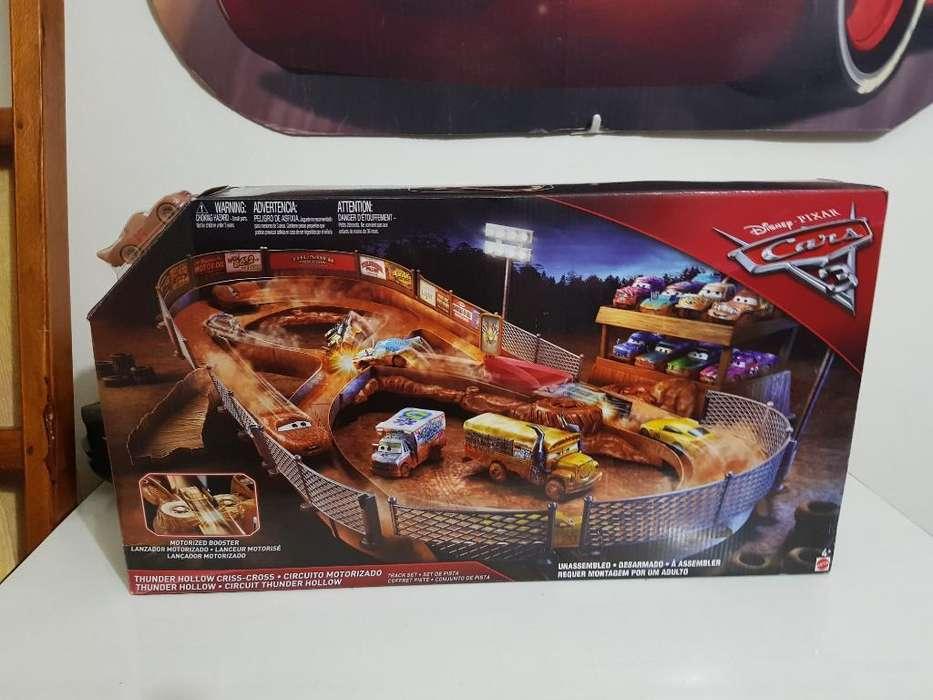Cars 3 Thunder Hollow Motorizada