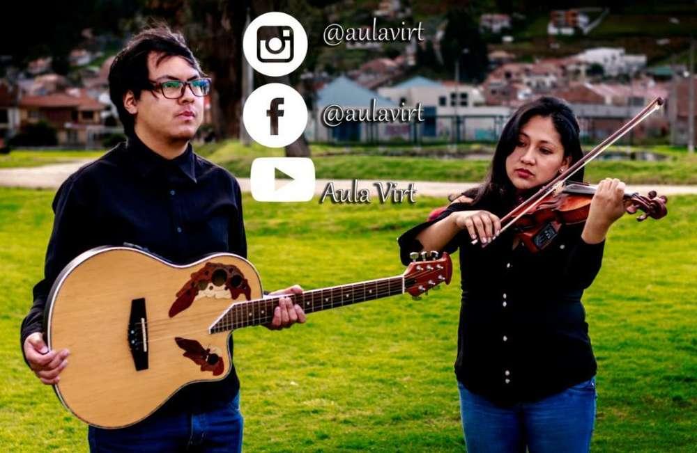 Clases de Violín,piano, Guitarra.
