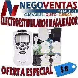 ELECTROESTIMULADOR TERAPEUTICO MASAJEADOR