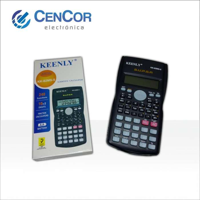Calculadora Cientifica! CenCor Electrónica