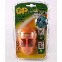Cargador Gp Original Para Bateria 9v Con 2 <strong>pila</strong>s