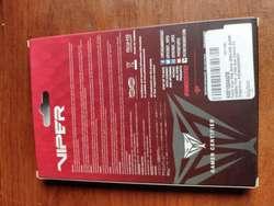 Memorias DDR4 Patriot Viper 2x4 GB 2666 MHZ nuevas
