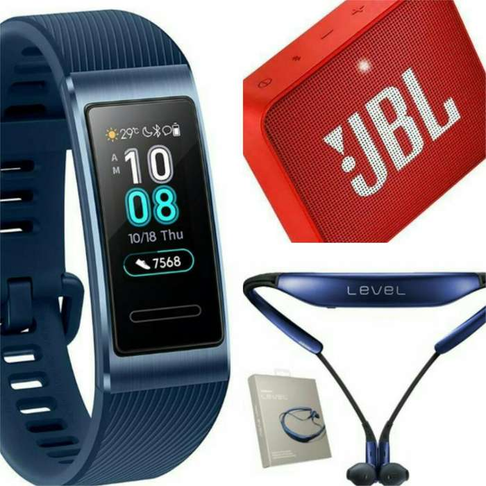 Huawei Band 3 Pro Smg Level U Jbl Go 2