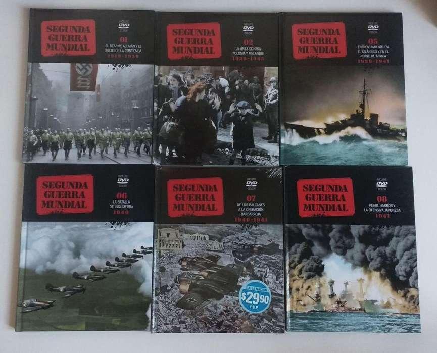 Coleccion Segunda guerra mundial La nacion <strong>dvd</strong> y libros OLXJESS