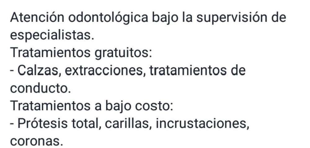 Atencion en Odontologia