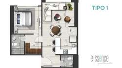 Venta departamento / suite en Carolina, Quicentro norte, Quito