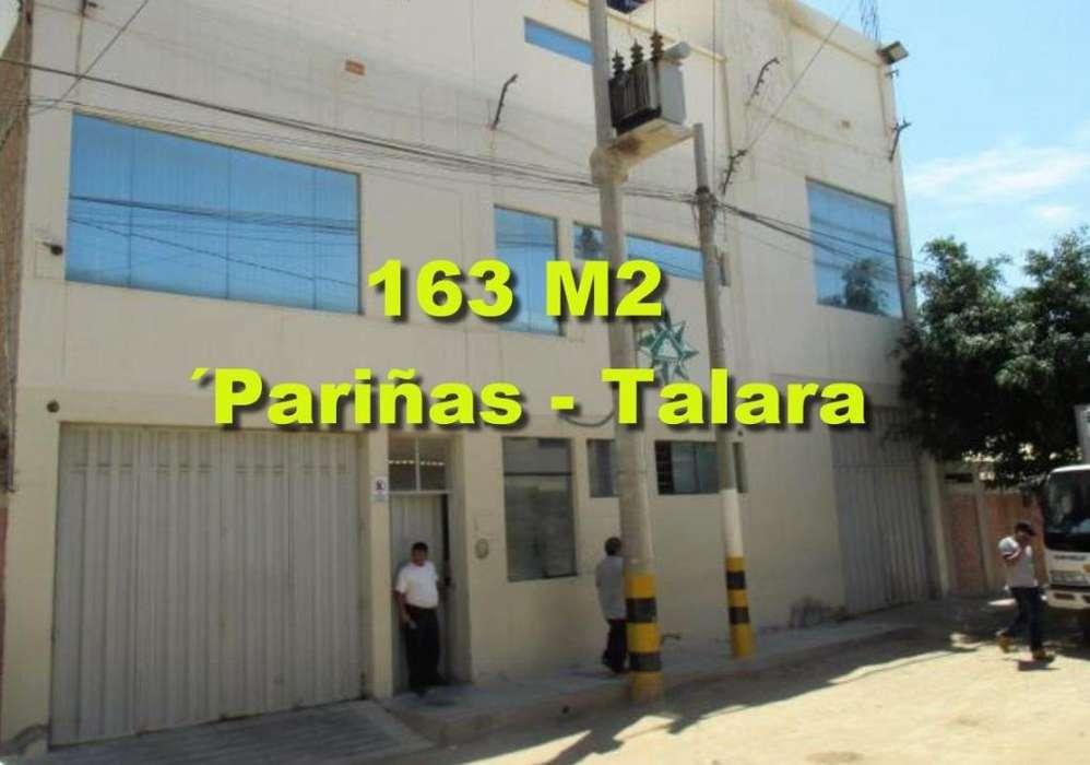 Vendo Inmueble Industrial de 163 m2 en Las Pariñas Talara.